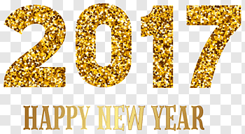 New Years Day cutout PNG & clipart images.