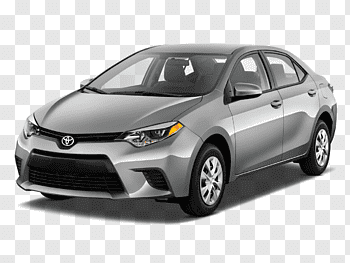 Toyota Corolla cutout PNG & clipart images.