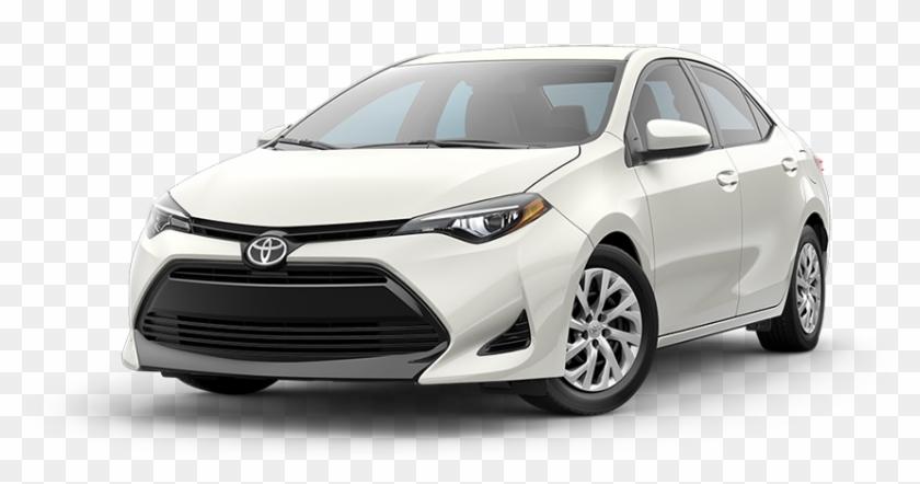 2018 Toyota Corolla Blizzard Pearl.