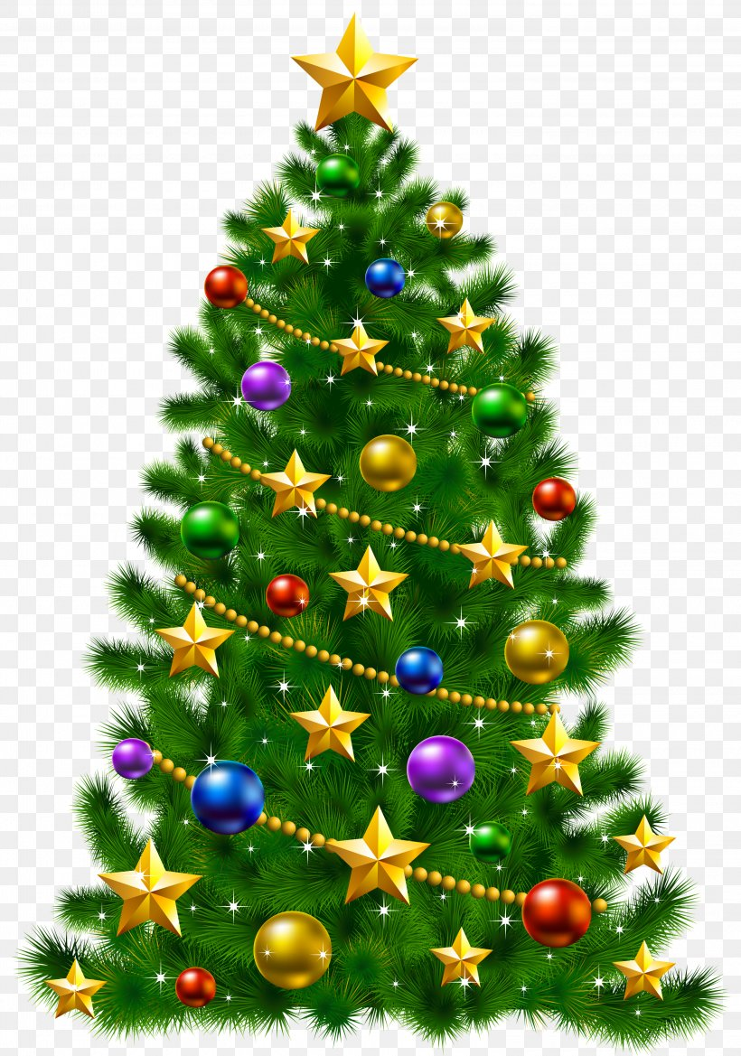 Christmas Tree Christmas Day Santa Claus Clip Art, PNG.
