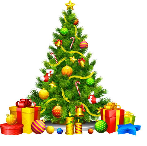 Merry Christmas Clip Art 2019 : Free Christmas Tree Clipart.