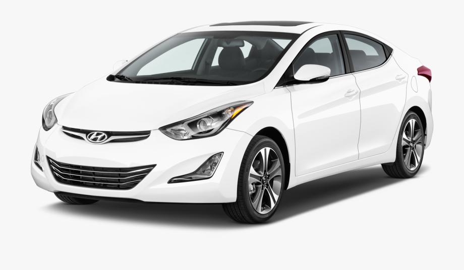White Hyundai Clipart Photo.