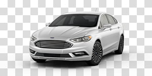 2018 Ford Fusion Hybrid Se transparent background PNG.