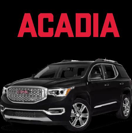 HD Acadia Specials.