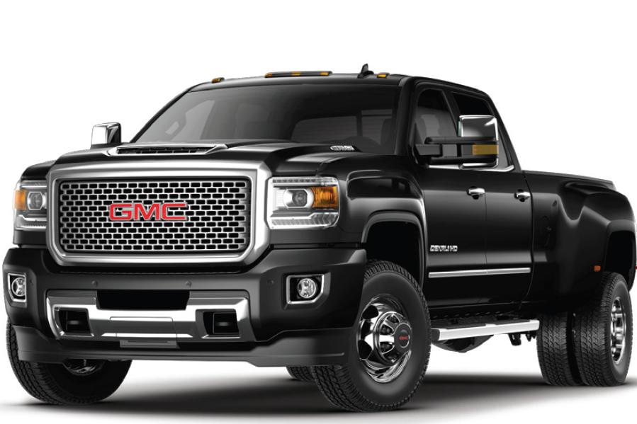 2017 Sierra 3500HD: Pickup Truck.