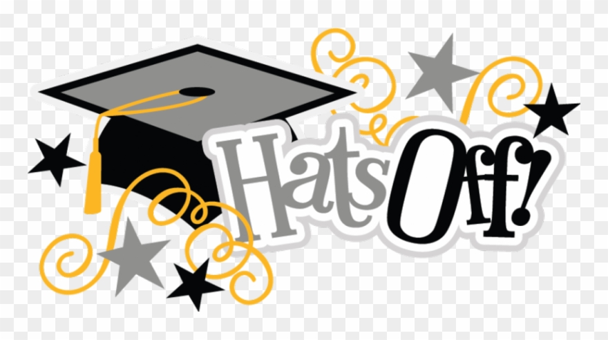 Hats Off Svg Scrapbook Title Graduation Svg Files Graduate.