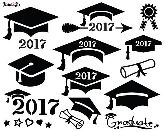 Graduation Cap Clipart 2017 (96+ images in Collection) Page 3.