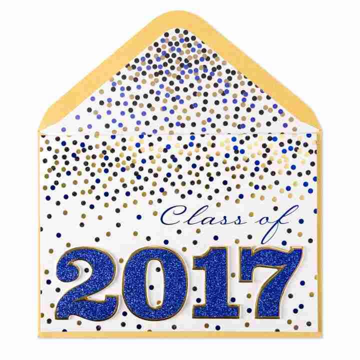 Class of 2017 Graduation Card.