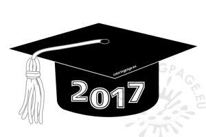 2017 graduation cap clipart 1 » Clipart Station.