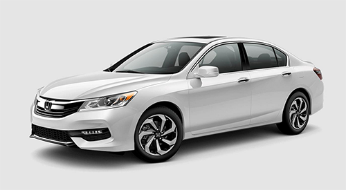 The 2017 Honda Accord EX.