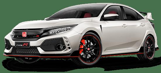 Honda Civic Type R Model Specifications.