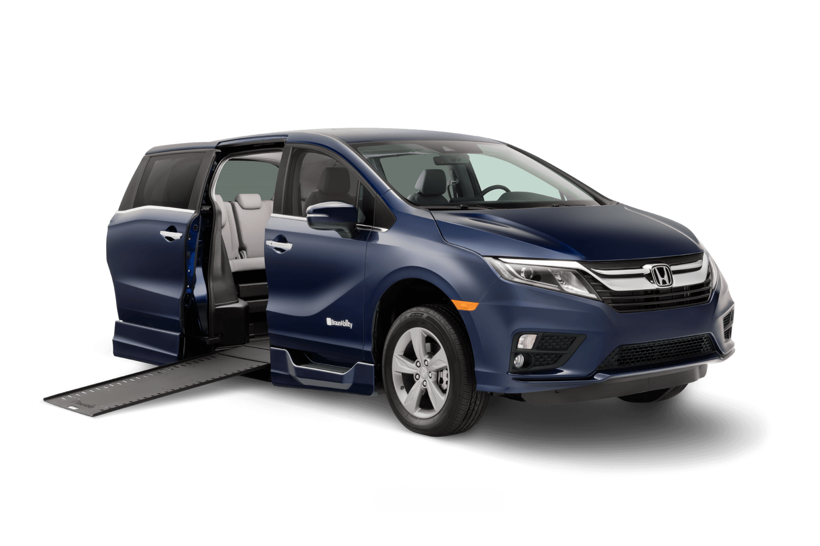 Wheelchair Accessible Honda Odyssey and Pilot.