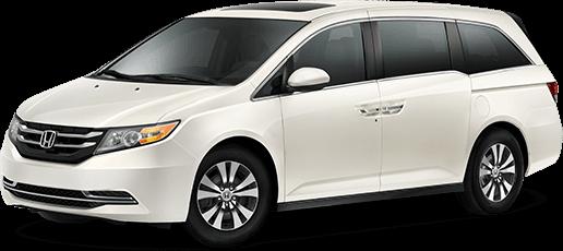 2017 Honda Odyssey.