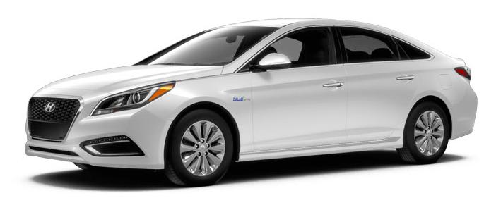 2017 Hyundai Sonata Hybrid SE.