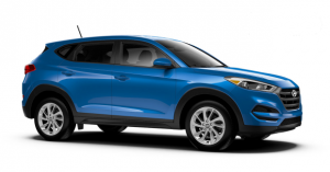 2017 Hyundai Tucson color options and trims.