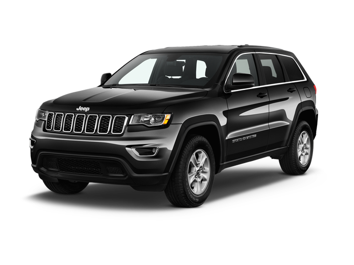 Used 2017 Jeep Grand Cherokee Laredo.