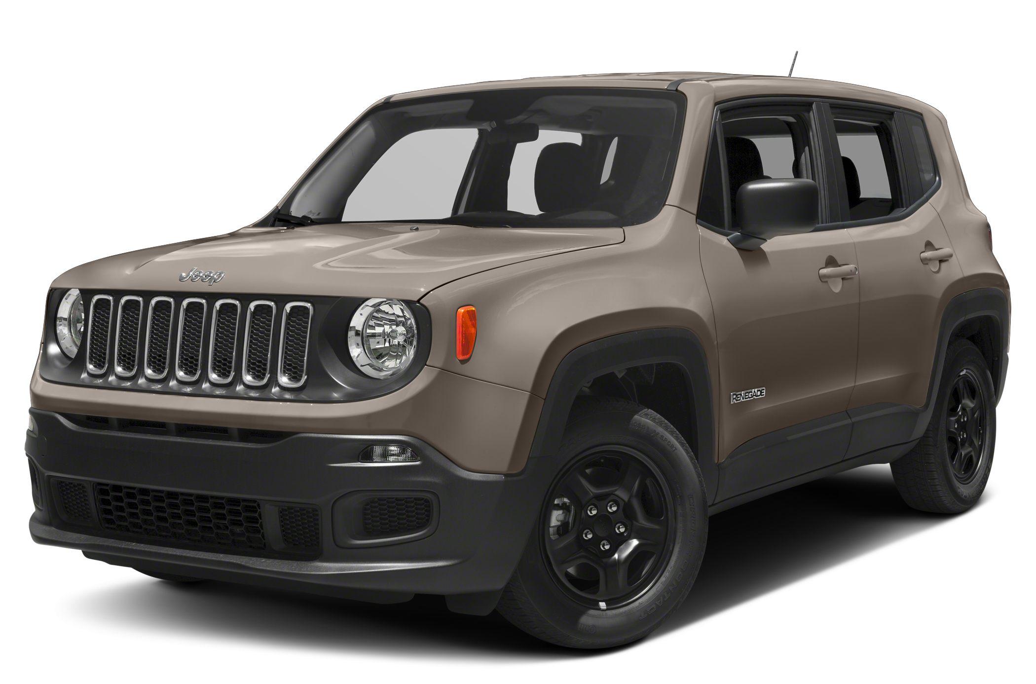 2017 Jeep Renegade.