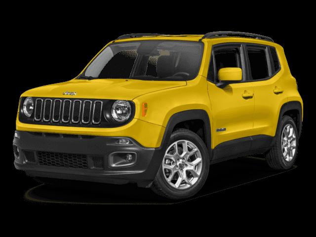New 2017 Jeep Renegade Latitude FWD 4D Sport Utility.