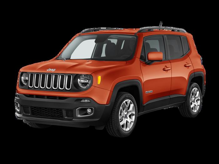 Used 2017 Jeep Renegade Latitude.