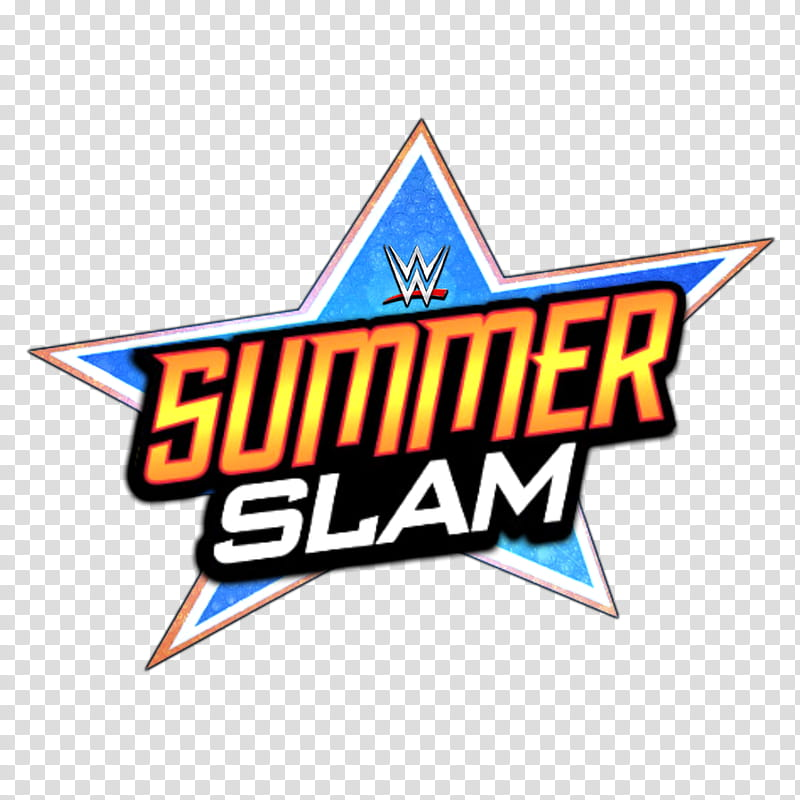 WWE Summerslam LOGO transparent background PNG clipart.