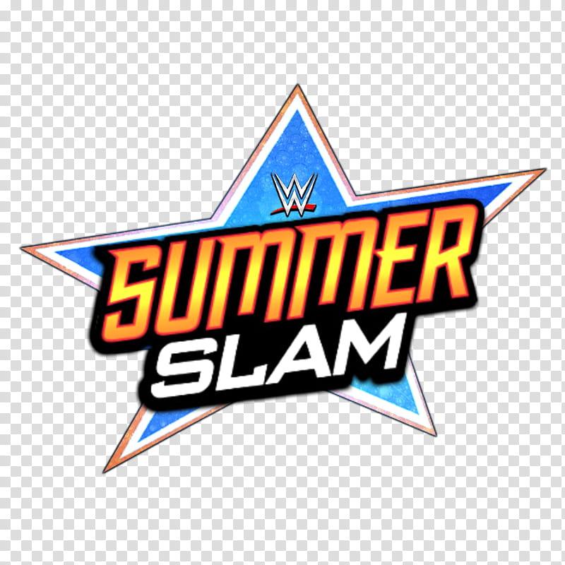 WWE Summerslam LOGO transparent background PNG clipart.