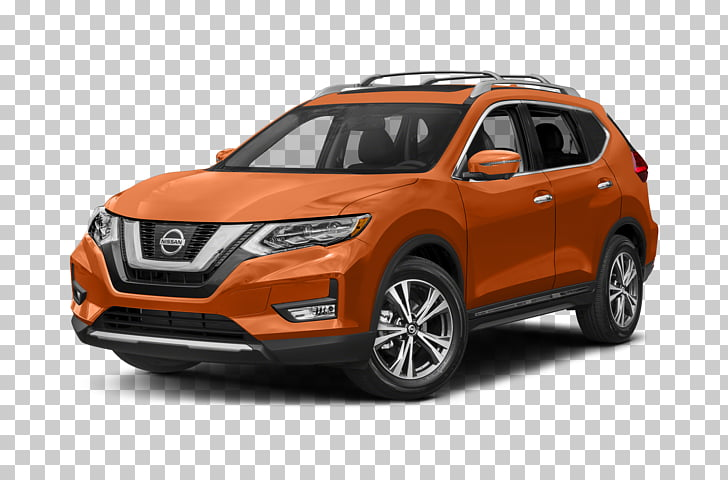 Compact sport utility vehicle 2017 Nissan Rogue SL AWD SUV.
