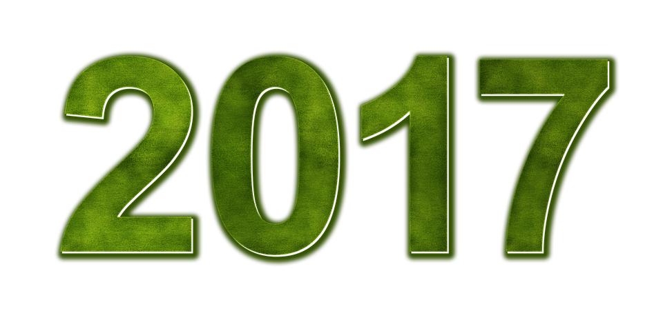New Year 2017 PNG Transparent Images.