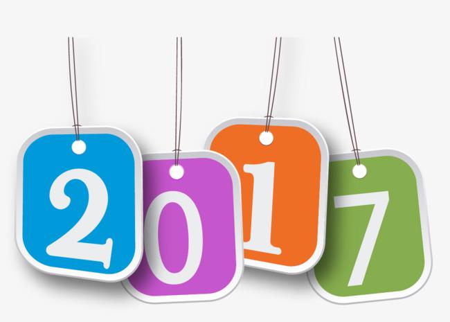 Đồ Thị Vector 2017 Năm Mới Khuyến Quảng Bá 2017 PNG và véc.