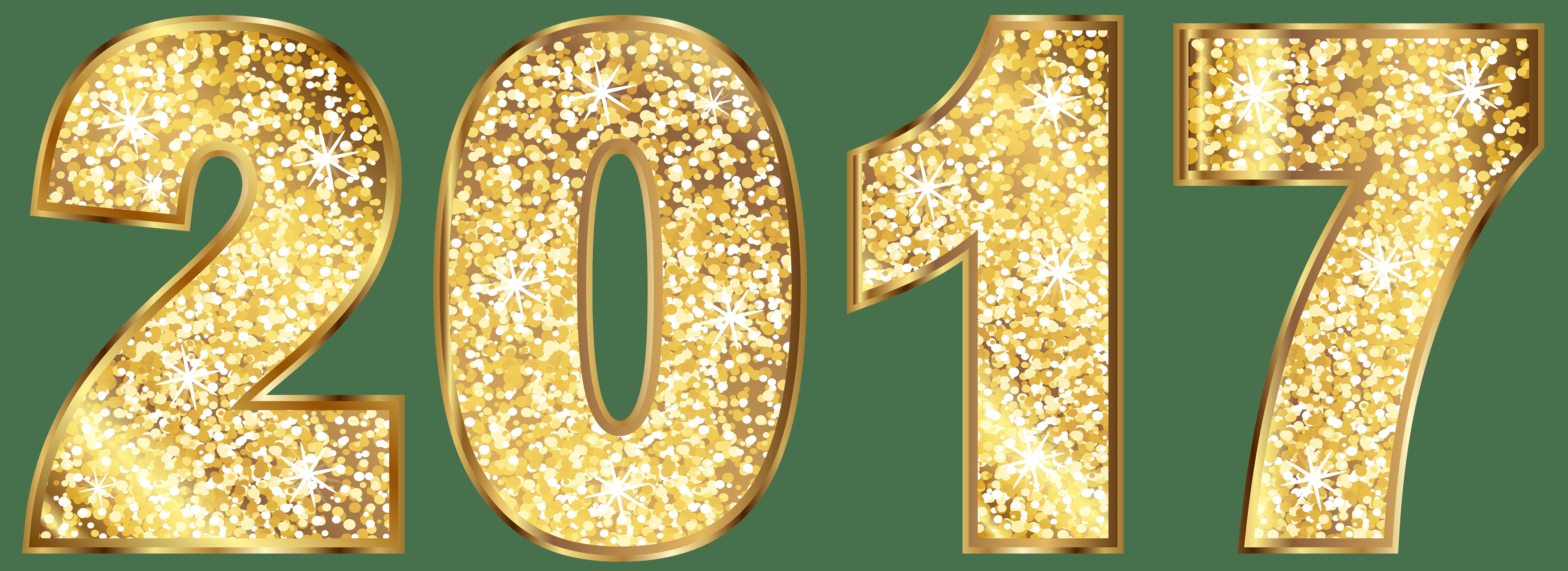 2017 Gold transparent PNG.