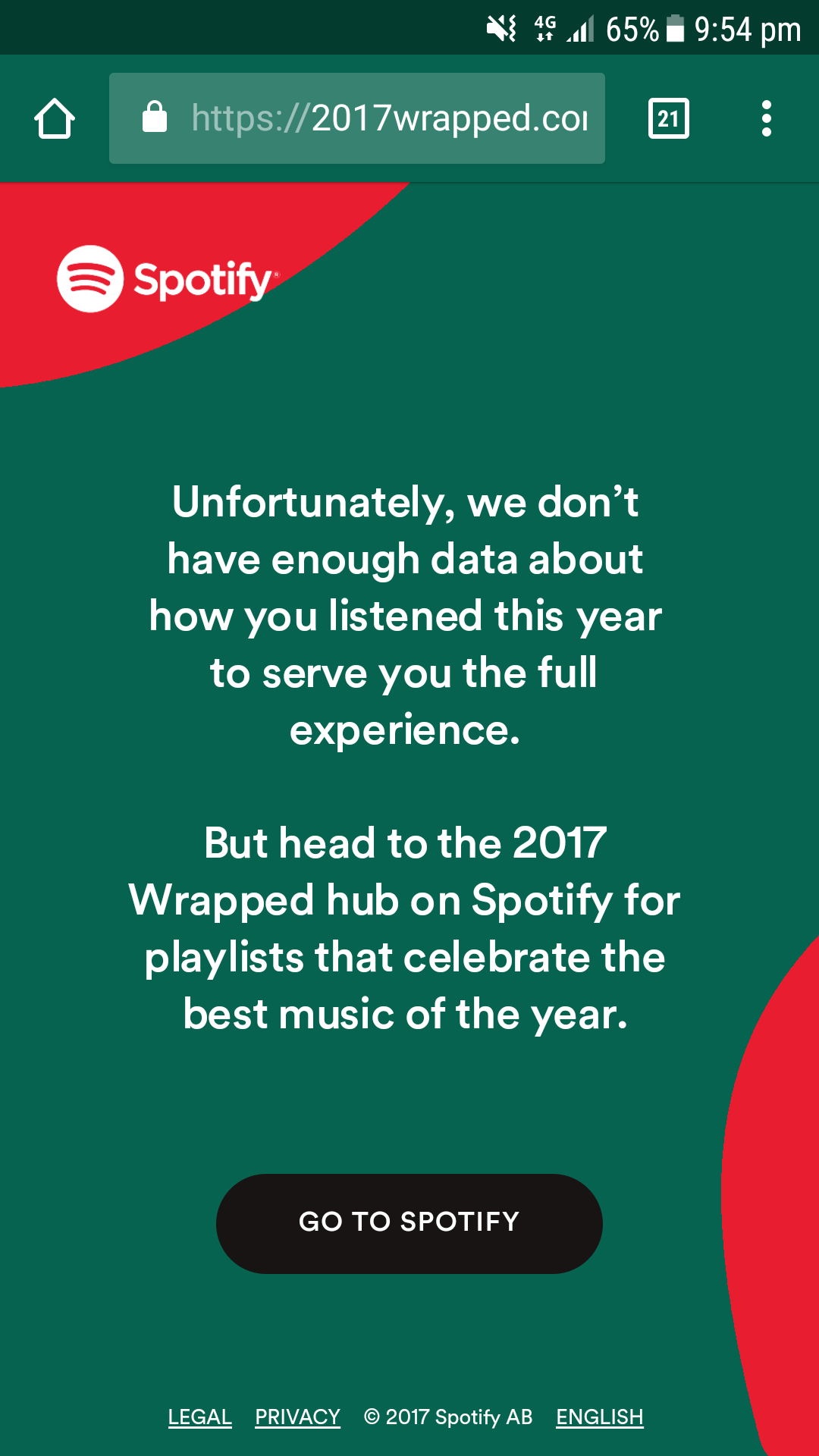 Your 2017 Wrapped.