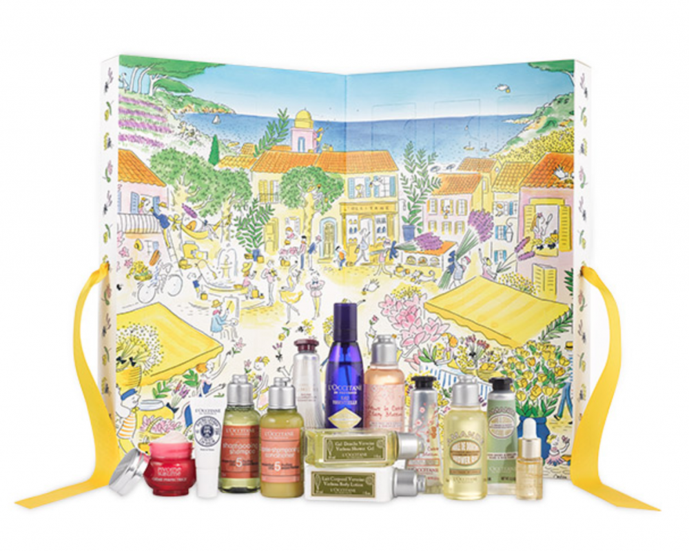 L\'OCCITANE Summer Treasures Advent Calendar.
