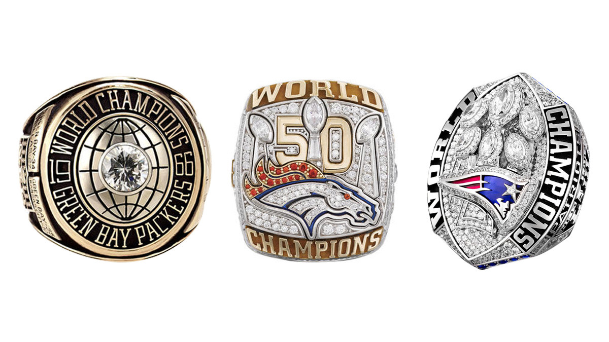 See All 53 Super Bowl Championship Rings From I to LIII.