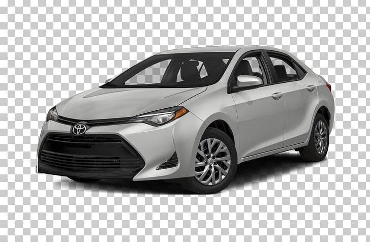 2017 Toyota Corolla Compact Car 2018 Toyota Corolla L PNG.