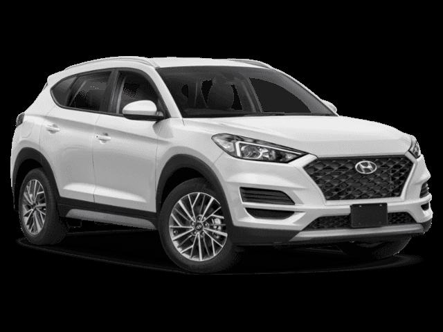 New 2020 Hyundai Tucson SEL AWD.