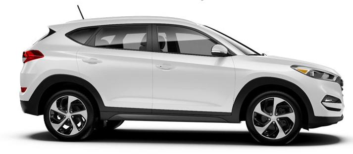 2017 Hyundai Tucson SE.