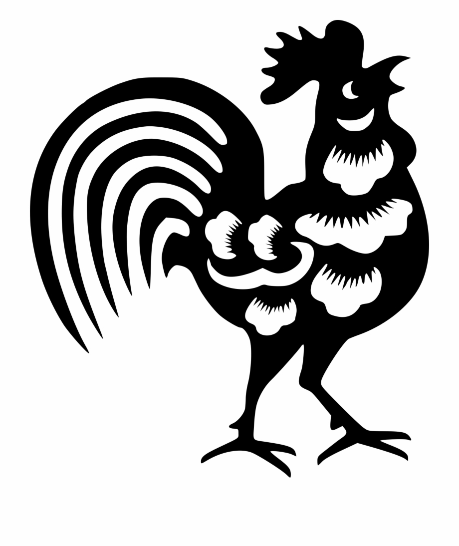 Chinese New Year Rooster Png.