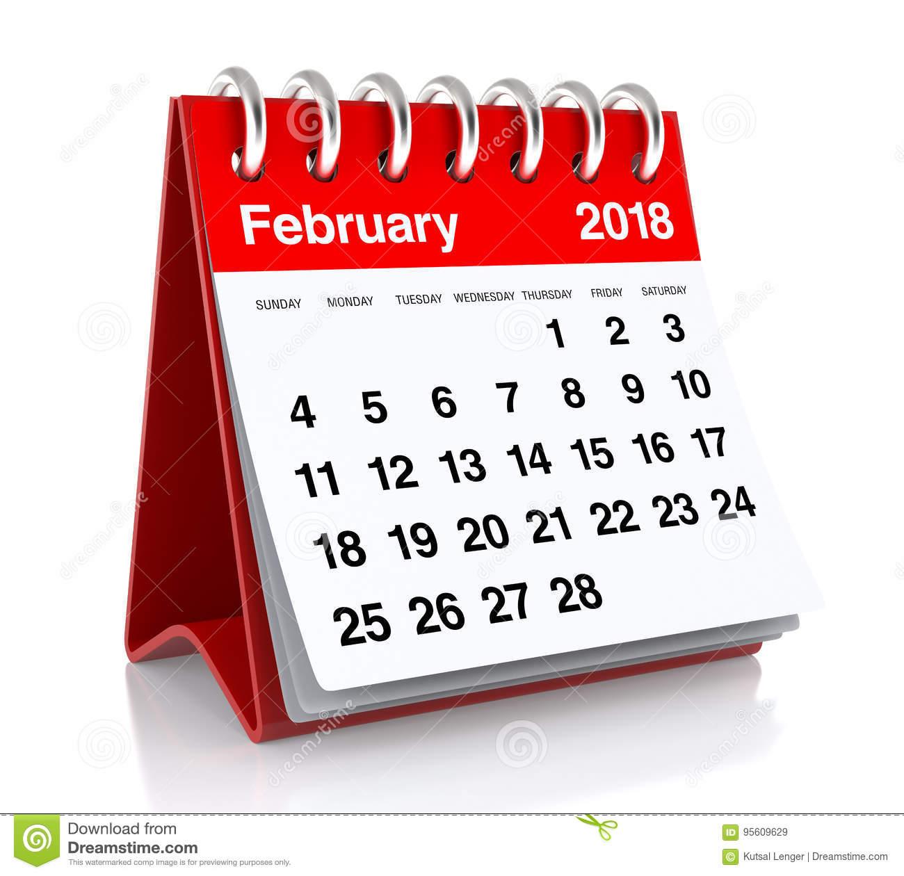 2018 calendar clipart 4 » Clipart Station.