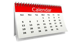 Free spanish clipart for teachers of a calendar.