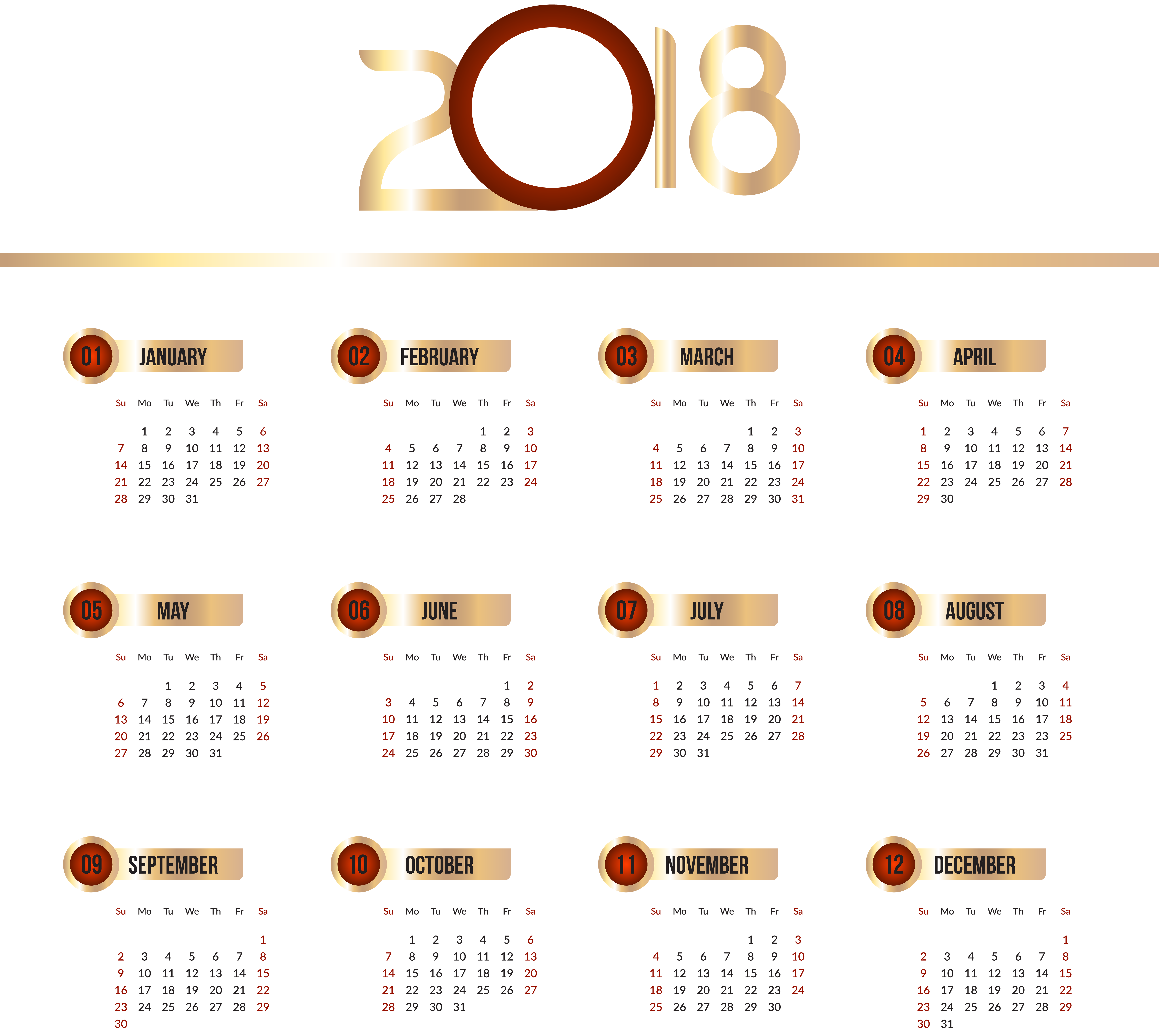 Library of free clip art free download calendar 2018 png.