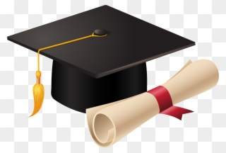 Free PNG Cap And Diploma Clip Art Download.