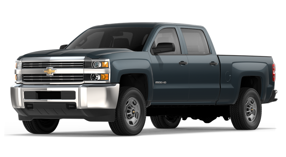 2018 Chevy Silverado 2500HD.