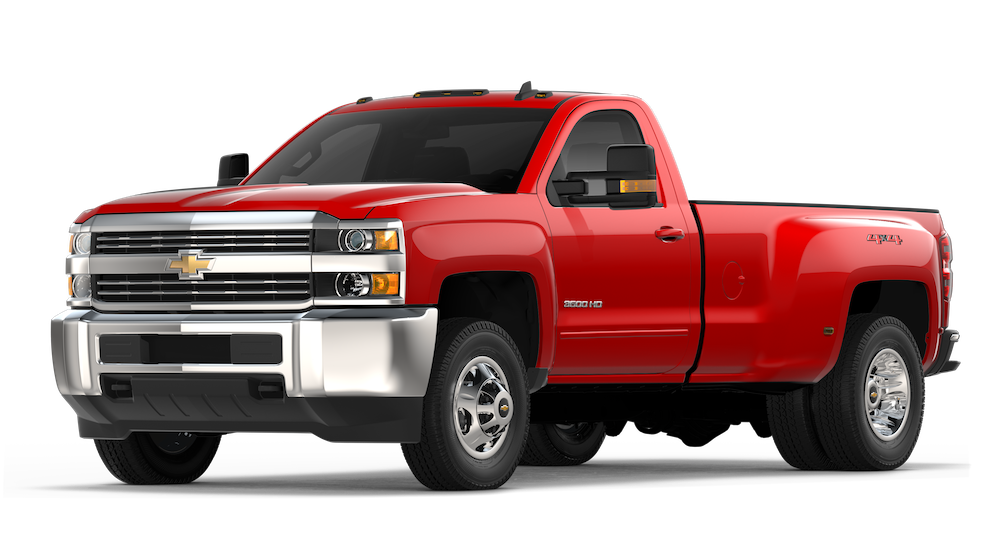2018 Chevy Silverado 3500HD.