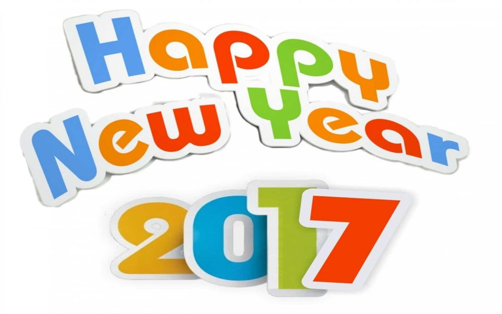 Happy New Year Clipart 2017.