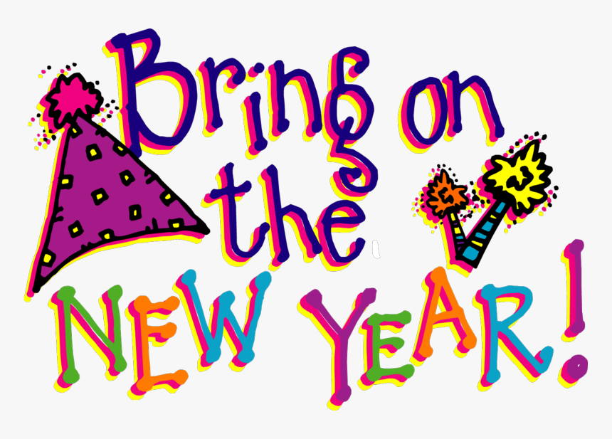 Happy New Year Clipart 2018 Free, HD Png Download.