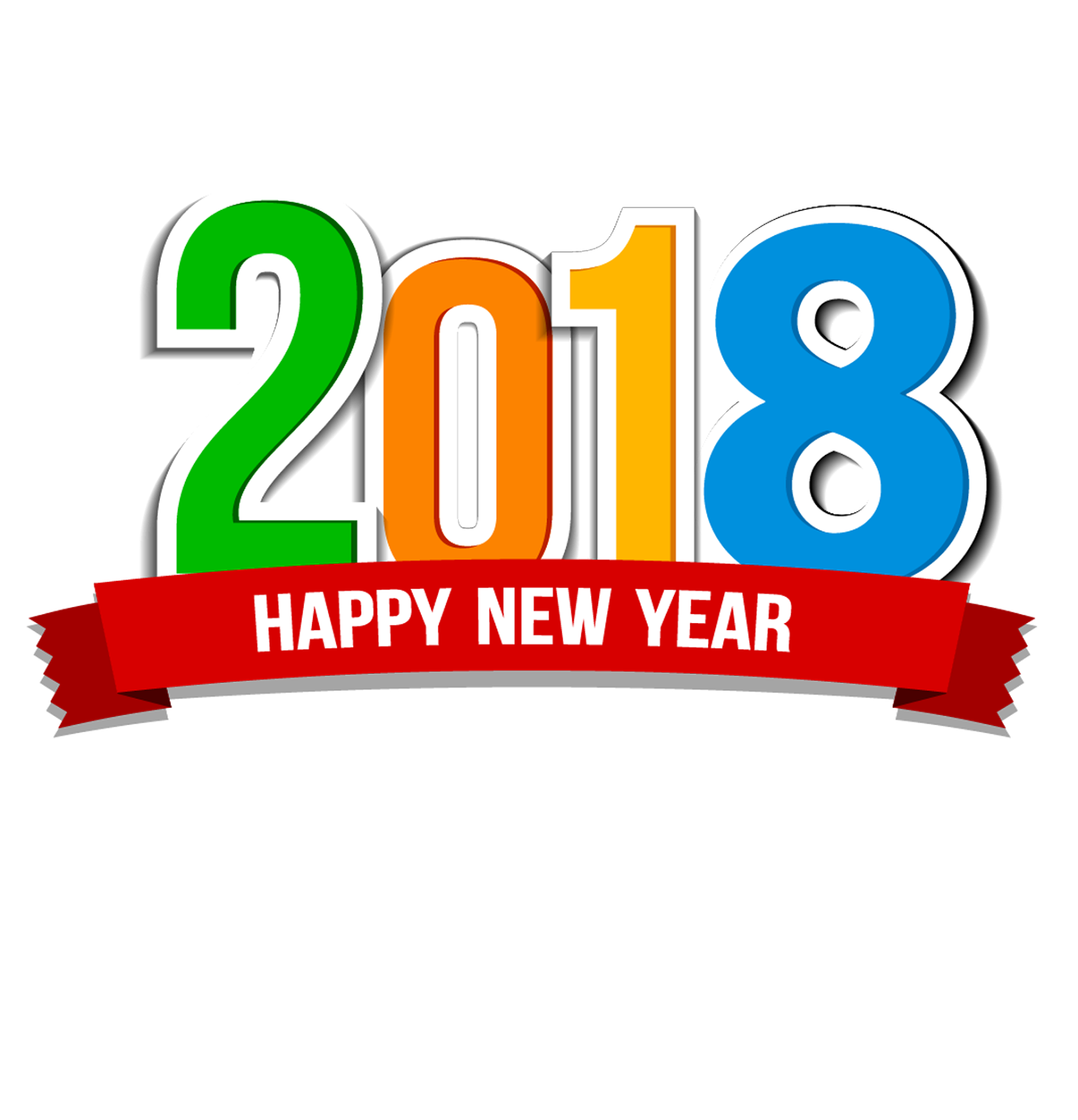 Happy New Year 2018 Png ,HD PNG . (+) Pictures.
