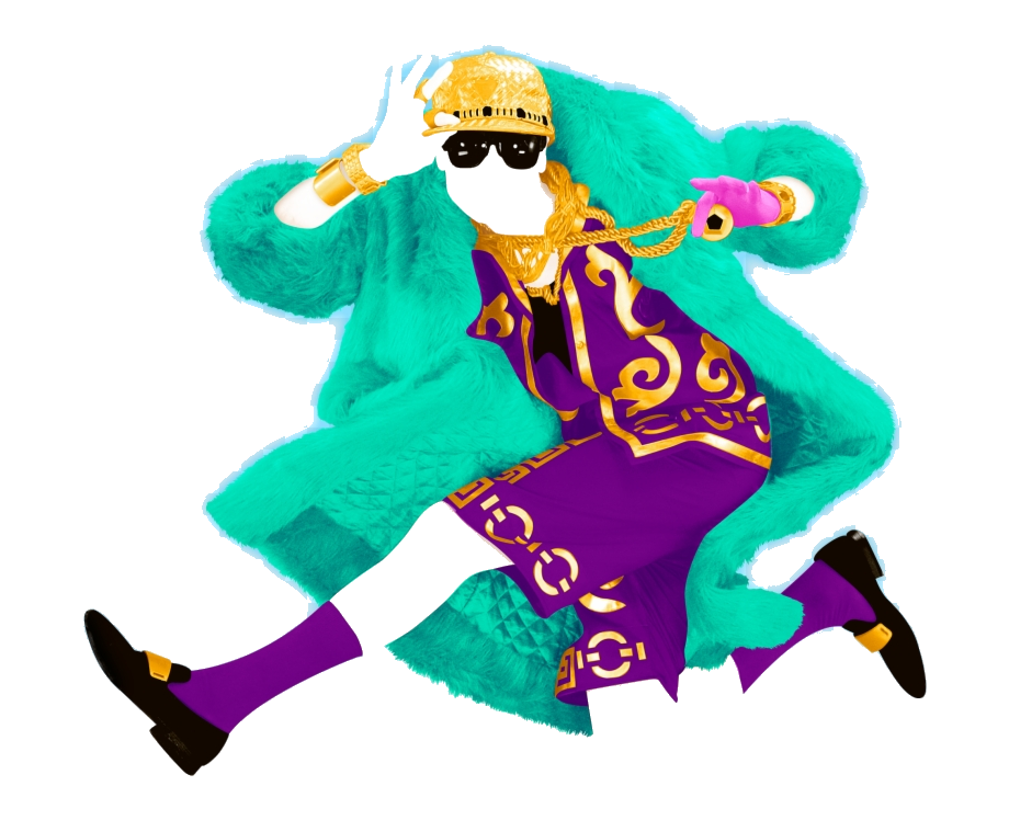 Just Dance K Promo Coach Clipart Transparent Png.