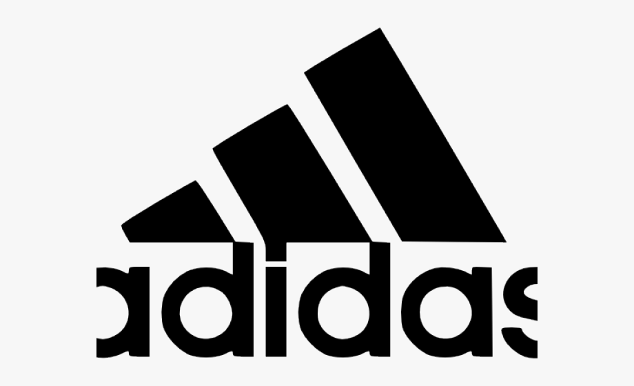 Adidas Clipart Black And White.