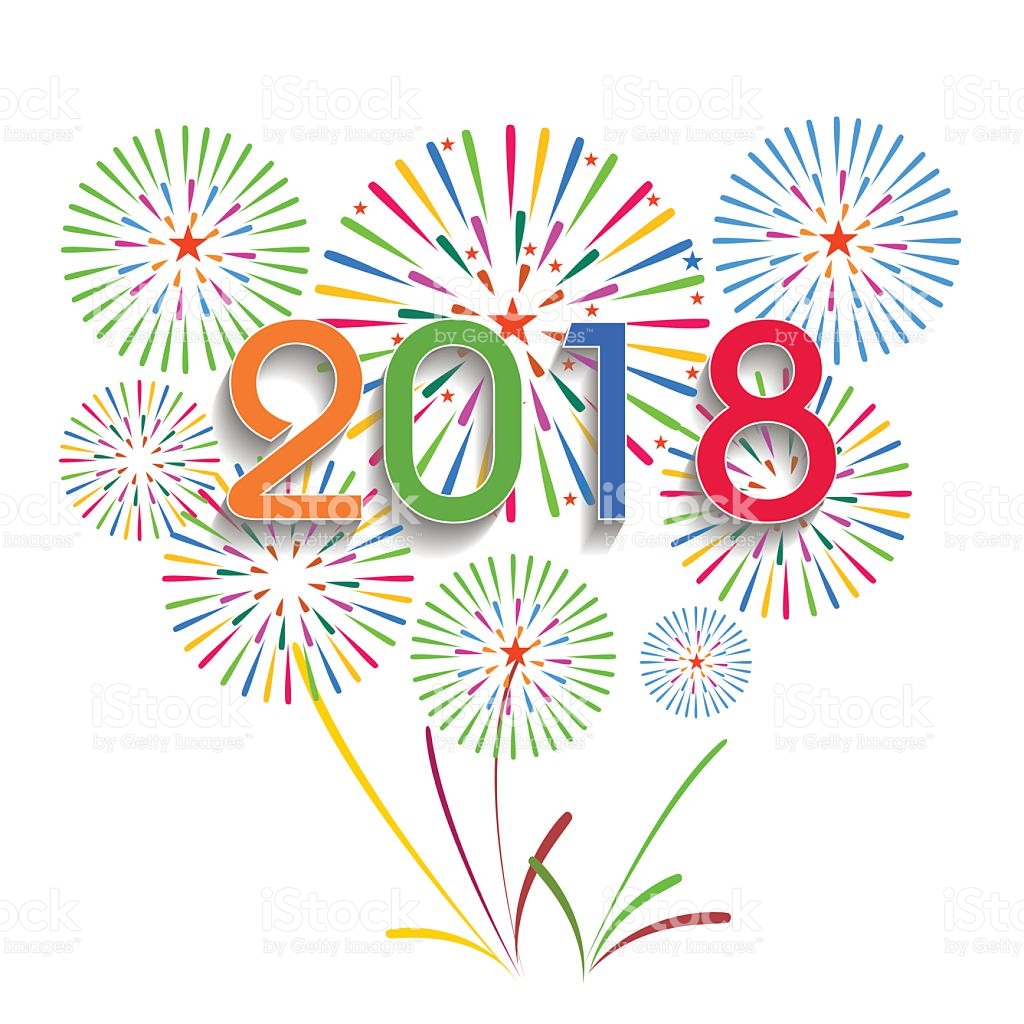 Free Clipart For New Years 2018.