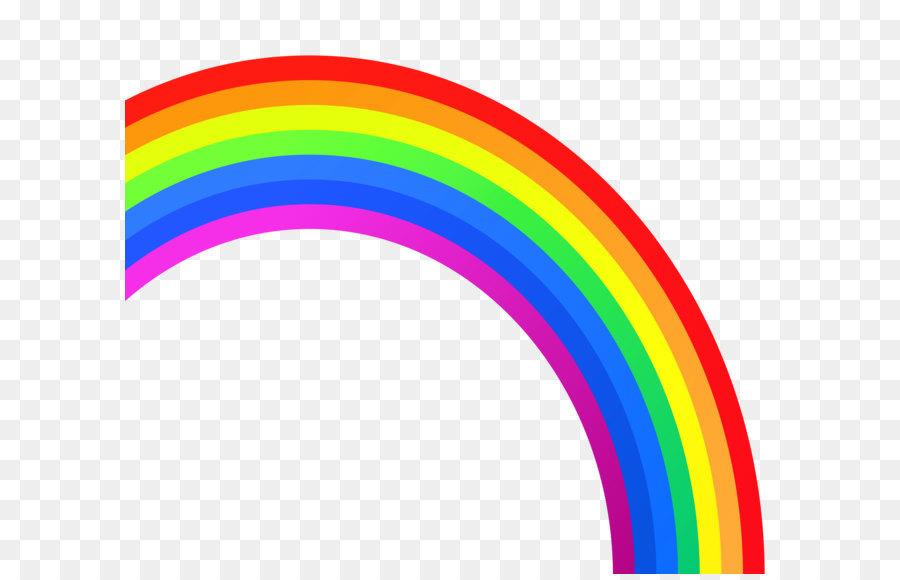 Rainbow clipart transparent » Clipart Station.