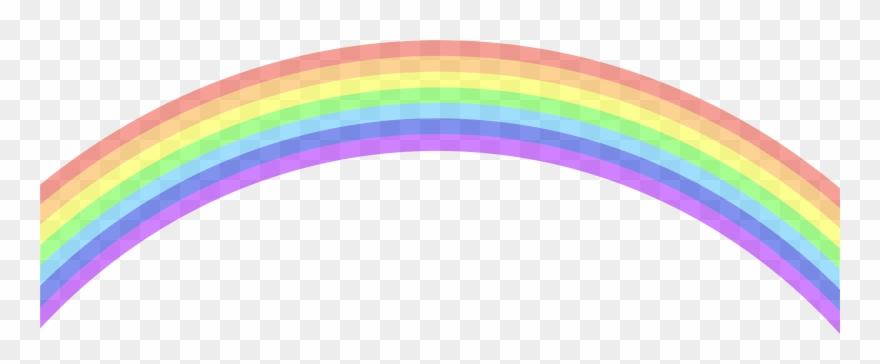 Rainbow Clip Art Image.
